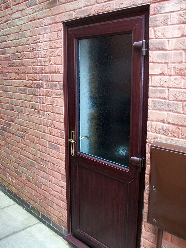 Back Doors With Windows : Upvc back doors replacement from altus