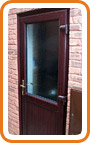 UPVC Back Door Example 2