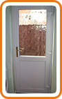 UPVC Back Door Example 3