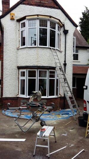 Photo: Work-in-progress on our job in Nuneaton