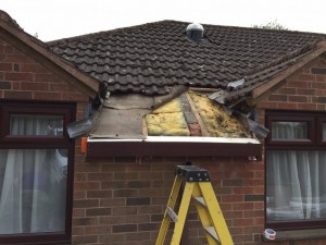 Photo: Fascia job in West haddon, Northamptonshire.