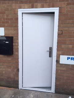 Photo: Something a bit diferent - Security Doors on an industrial unit