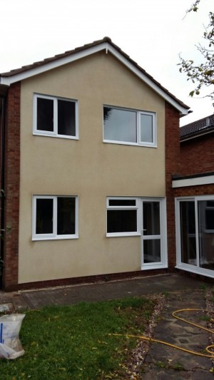 Photo: Remember our job in Nuneaton? Well here is the finished house. What a transformation!!