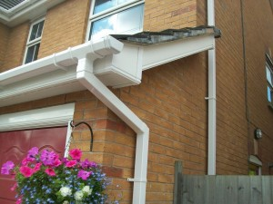 Photo: This week we are doing some Fascias in Oakham
