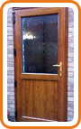 UPVC Back Door Example 8
