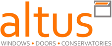 Logo: Altus Windows, Doors, Conservatories