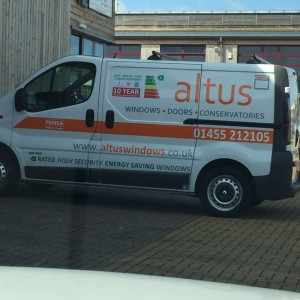 Photo: Second van for Altus giving us more flexibility to serve our customers