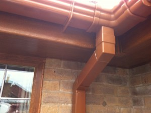 Photo: Custom made guttering accessories?